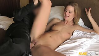 Steffany gets naughty while riding stiff cock