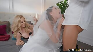 Jillian Janson and Nina Hartley hardcore trine sex on the wedding day