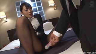 Sweet Japanese girl gest fucked in the office - Kashii Ria