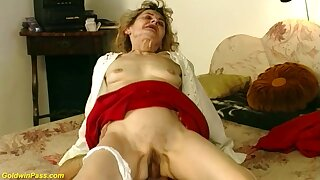 Flimsy bush 81 years old german grandma gets wild and abyss fucked in crazy sex positions